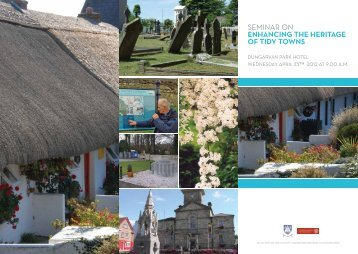 Tidy Towns Seminar Brochure 2012 - Waterford County Council