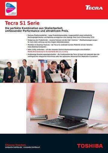 Tecra S1 Serie - Toshiba