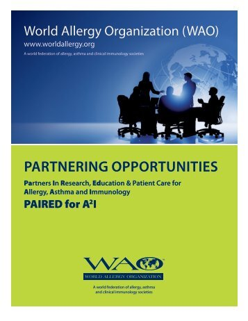PARTNERING OPPORTUNITIES - World Allergy Organization