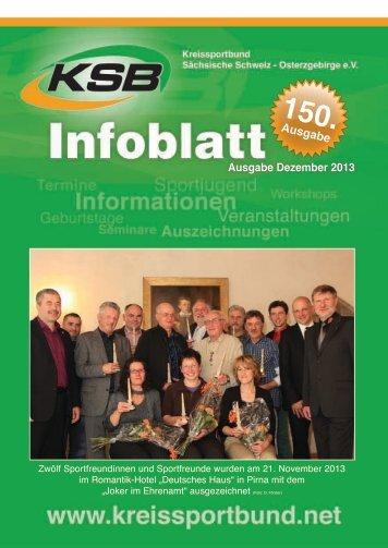Ausgabe Dezember 2013 - Kreissportbund Sächsische Schweiz