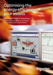 Motorsys iPMCC Solutions Brochure - Schneider Electric