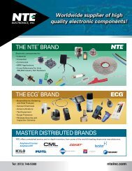 Line Card (PDF) - NTE Electronics