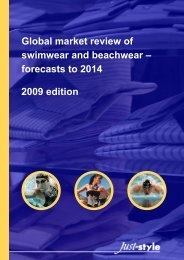 Global market review of swimwear and beachwear - Just-Style.com