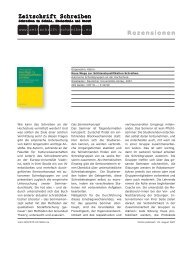 Download - Zeitschrift Schreiben