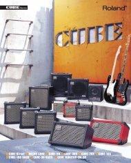 CUBE Series Catalog - Roland
