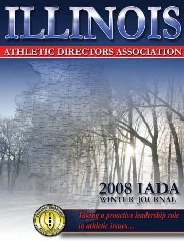2008 Winter Newsletter - Illinois Athletic Directors Association