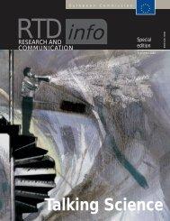 RTD info - European Commission - Europa