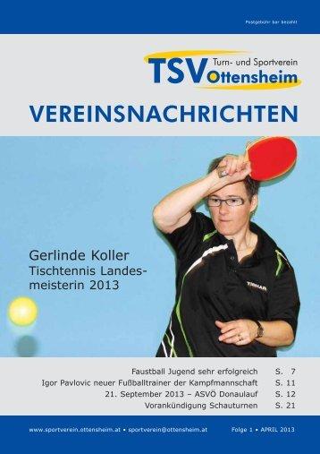 April 2013 - und Sportverein Ottensheim