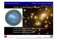 Physik: Von den Quarks zu Galaxien - Podcampus