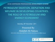 Petroleum Taxation, Depletion and Welfare in Developing Countries