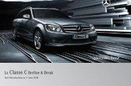 La Classe C Berline & Break - Sitesreseau.mercedes.fr - Mercedes ...