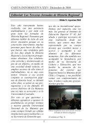 Carta Informativa 25 - Diciembre 2010 - Universidad Nacional de La ...