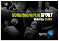 Volunteering in SPORT - Sport Borders