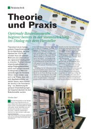 Theorie und Praxis - Panasonic Electric Works CZ