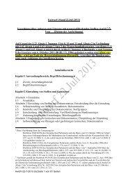 Verordnung über Anlagen zum Umgang mit ... - BMU