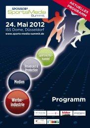 ISS Dome, Düsseldorf - SPONSORs Sports Media Summit