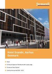 Hotel Scandic, Aarhus Denmark - Fermacell