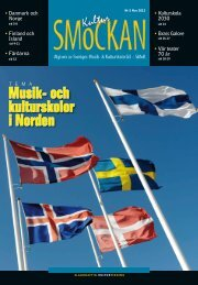 KULTURSMOCKAN nr 5/2012.pdf - SMoK - Sveriges Musik