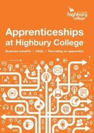 Apprenticeships - Highbury College