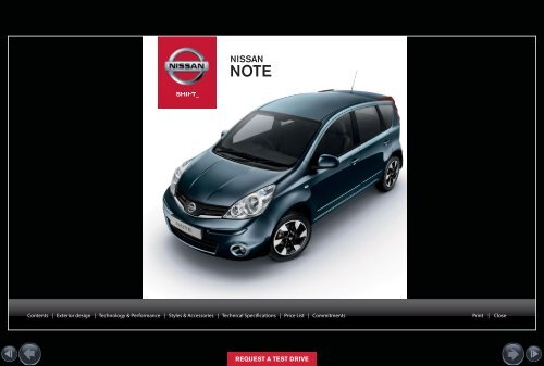 NEW NOTE - Nissan