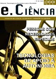 Revista e.Ciencia 20050623 - ISR-Coimbra - Universidade de ...