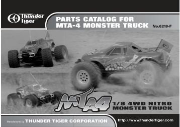 PARTS CATALOG FOR MTA-4 MONSTER TRUCK ... - Yann Cosson