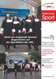 12478_7 SSB Umschlag 3-07 - Stadtsportbund Hannover e.V.