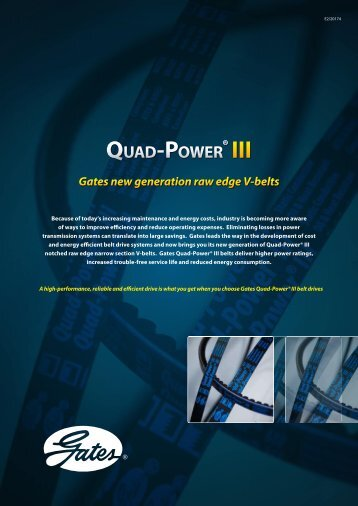 Gates Quad-Power® III - SKS Sweden