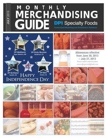 MERCHANDISING - DPI Specialty Foods