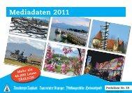 Mediadaten 2011 - Chiemgau Online
