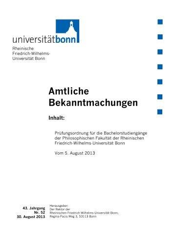 Prüfungsordnung (gültig für BA-Studierende des Jahrgangs 2013/14)