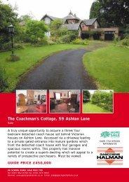 The Coachman's Cottage, 59 Ashton Lane