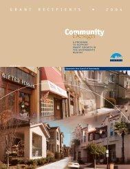 Community Design Grant Recipients - sacog