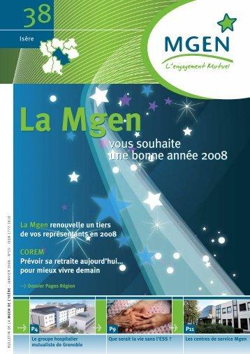 vous souhaite une bonne année 2008 vous souhaite une ... - MGEN