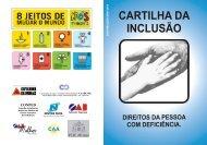 CARTILHA DA INCLUSÃO - OAB/MG