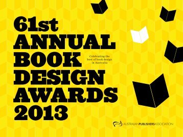 Celebrating the best of book design in Australia - Australian ...