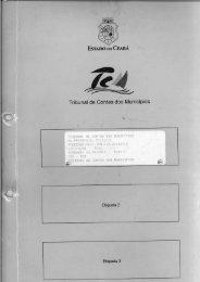 Processo Licitatório - TCM-CE