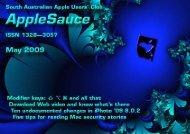 download - South Australian Apple Users' Club