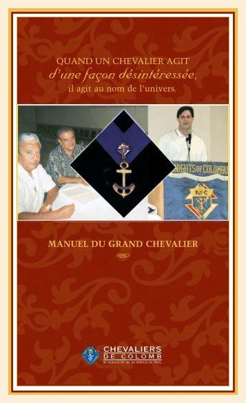 manuel du grand chevalier