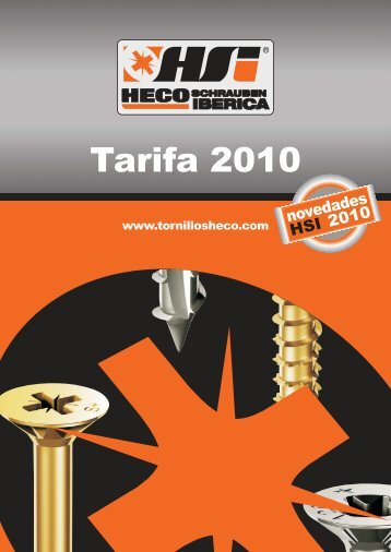 tarifa HECO HSI 2010.FH11