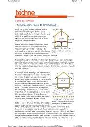 Sistema geotérmico de climatização - Isomax - Terrasol