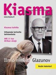Ilmiö nimeltä Glazunov - Kiasma
