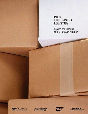 2005 THIRD-PARTY LOGISTICS - Supply Chain Magazine