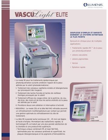 248-0330 Elite FRENCH - Lumenis Aesthetic