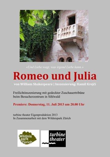 Romeo und Julia - Turbine Theater