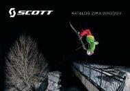 Katalog zima 2010/11 - SCOTT Sport