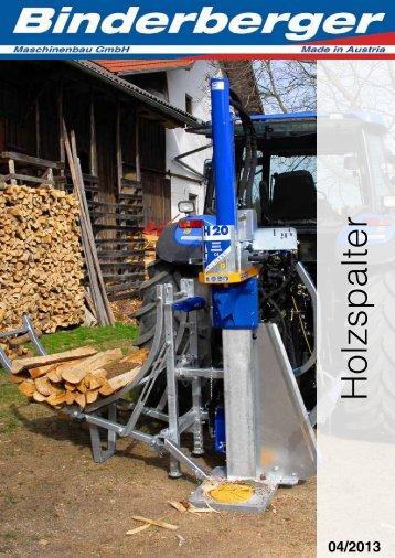 Holzspalter - Binderberger