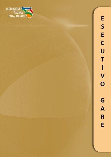 Regolamento Esecutivo Gare 2013-2014 - Federazione Italiana ...