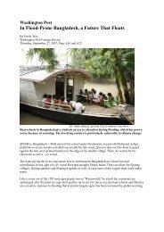 IRIN News BANGLADESH - Direct Relief International