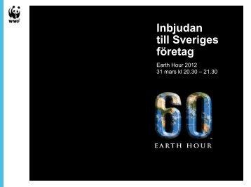 Inbjudan till Sveriges företag - Världsnaturfonden WWF